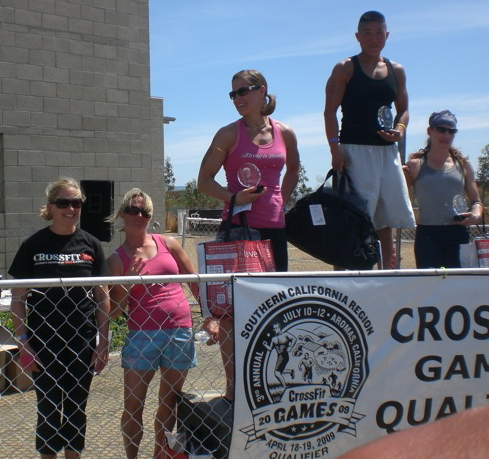 Female SoCal Regional Winners - and a hip thrust.