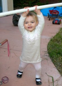 Baby Bee Charmer Rockin' the Split Jerk