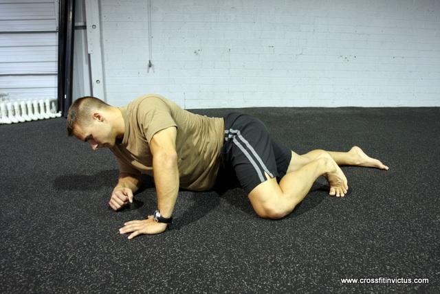 hip flexor stretch passive