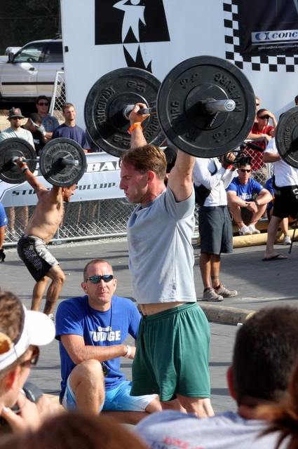 POS Invictus CrossFit Games Snatch