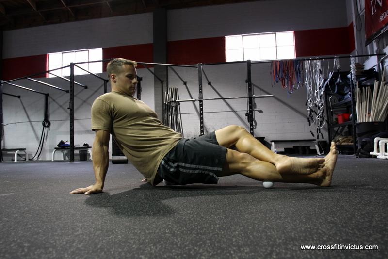 Soleus Foam Roll at CrossFit Invictus