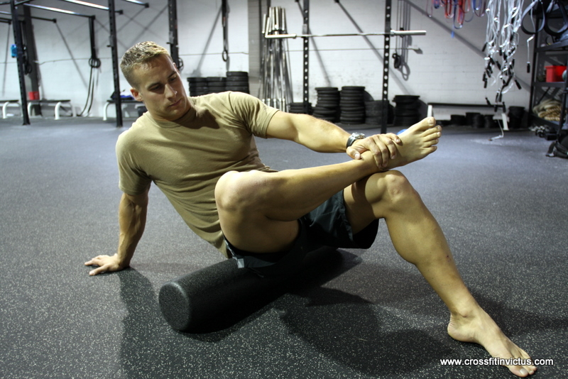 CrossFit Invictus Foam Roll Gluteus