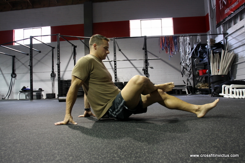 CrossFit Invictus Self Myofascial Release Piriformis and Glutes