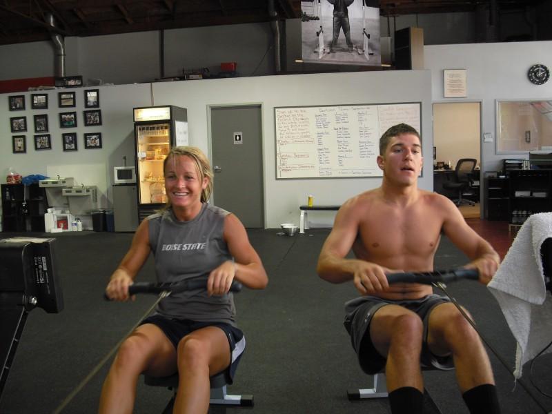 Macs Rowing at CrossFit Invictus