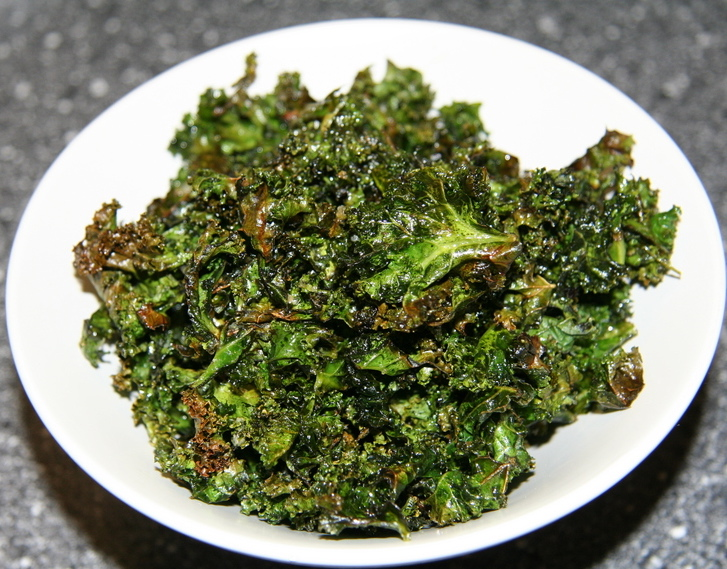 Crispy Kale Recipe from CrossFit Invictus San Diego