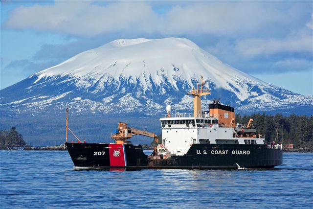 From our Coast Guard friends in Sitka, Alaska - makes for a chilly WOD, but the view is hard to beat.