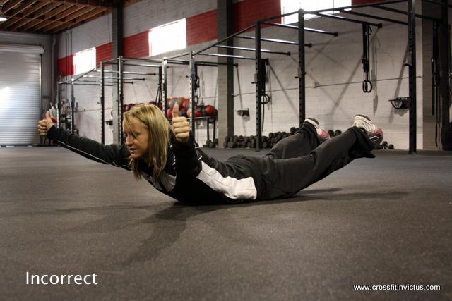 Incorrect Way to do a Y at CrossFit Invictus San Diego