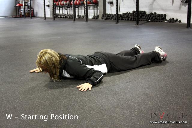 W-Shoulder Stabilization CrossFit Invictus San Diego