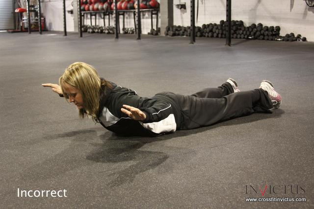 Incorrect Shoulder Stabilization CrossFit Invictus San Diego