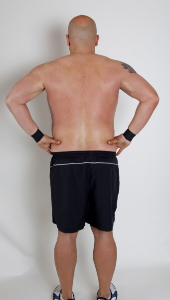 Gary after CrossFit Invictus San Diego Back