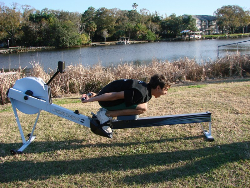 Don't try this at home, and don't even think about it at the gym.