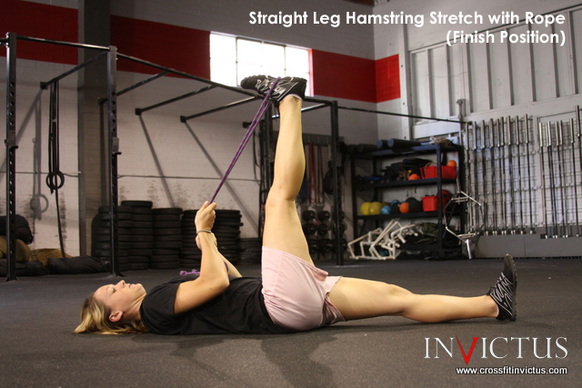 Hamstring PNF Finish by CrossFit Invictus
