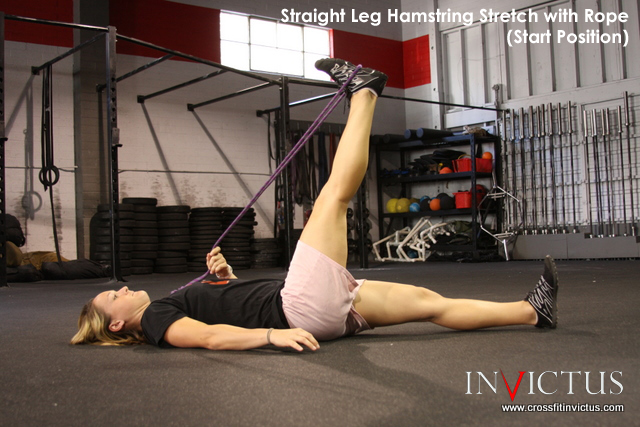 Hamstring PNF Start by CrossFit Invictus