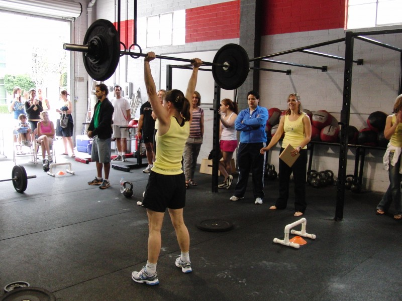 T-Will set a new PR on her clean & jerk and knocked out 70 pull-ups!