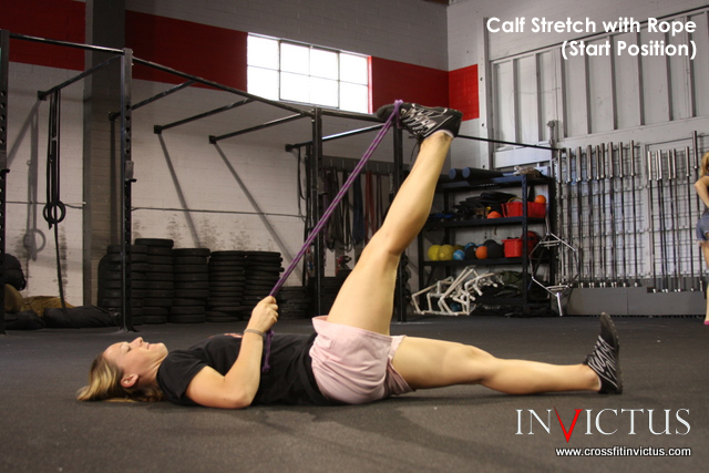 Calf Stretch by CrossFit Invictus San Diego