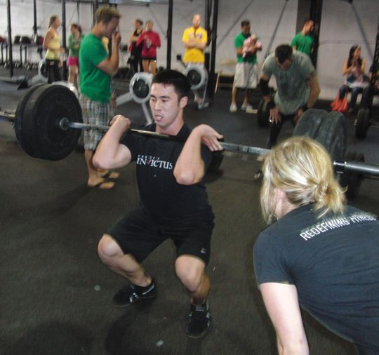 Calvin and Sage of CrossFit Invictus San Diego