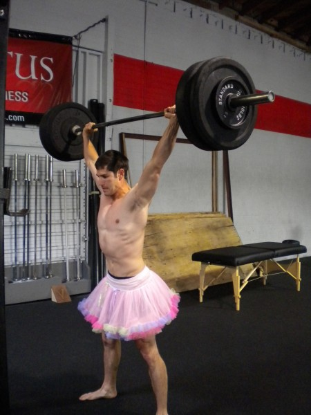 Tutus provide proper ventilation and range of motion; they will be the equivalent of Lululemon for CrossFit males.