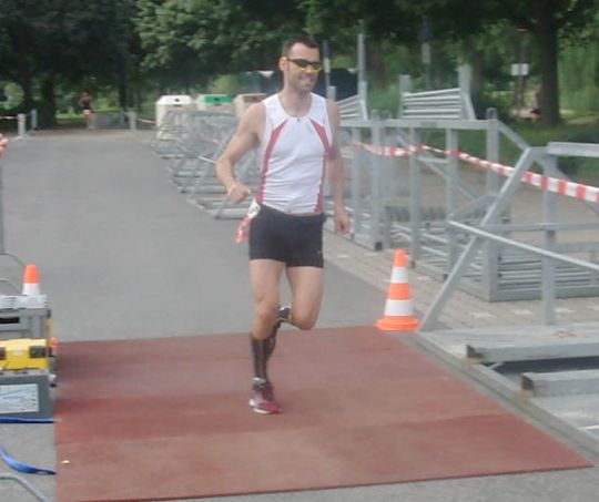 Joerg crushing it in his Triathlon event! Next up for him, 10k later this week. Good luck Joerg!