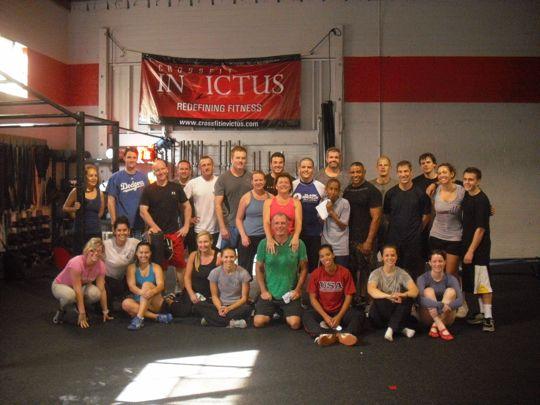 Saturday 11-6 at Invictus Fitness San Diego
