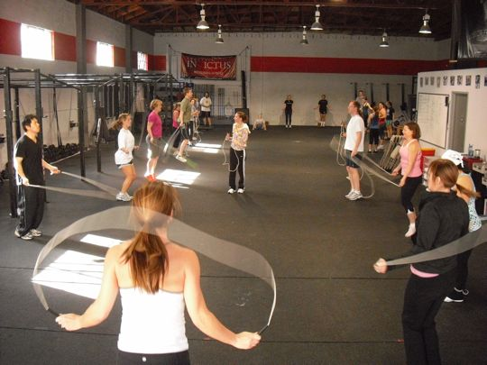 Jump Rope Clinic at Invictus Fitness