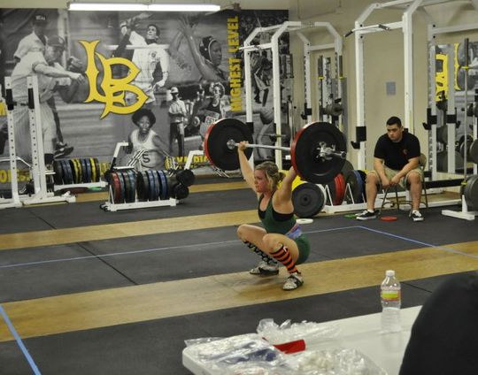 Sage B of Invictus Fitness Olympic Lifting