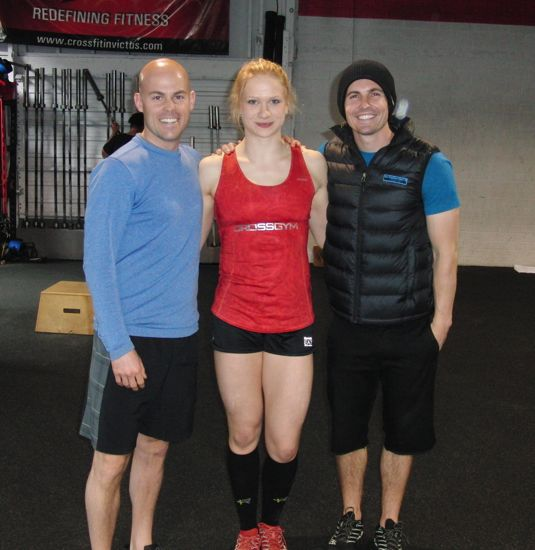 Annie Thorisdottir and Carl Paoli at Invictus Fitness