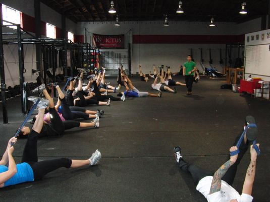 CrossFit Invictus Stretching and Mobility