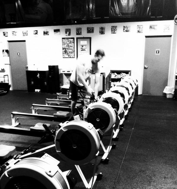 Rowing Club at CrossFit Invictus