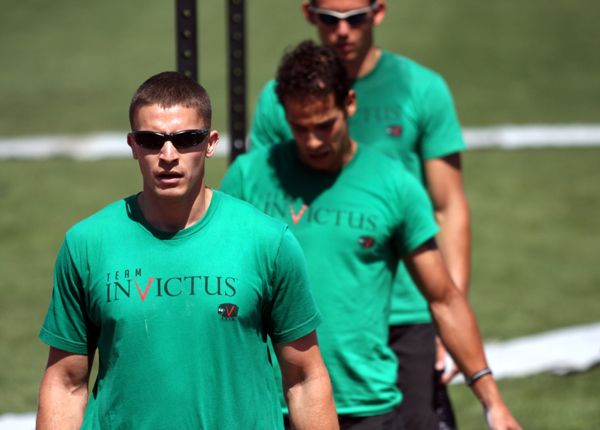 Justin N of CrossFit Invictus at the 2010 CrossFit Games