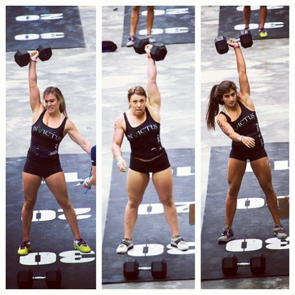2013 Team Girls DB Snatch