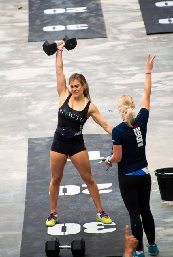 Heather at 2013 SoCal Regionals