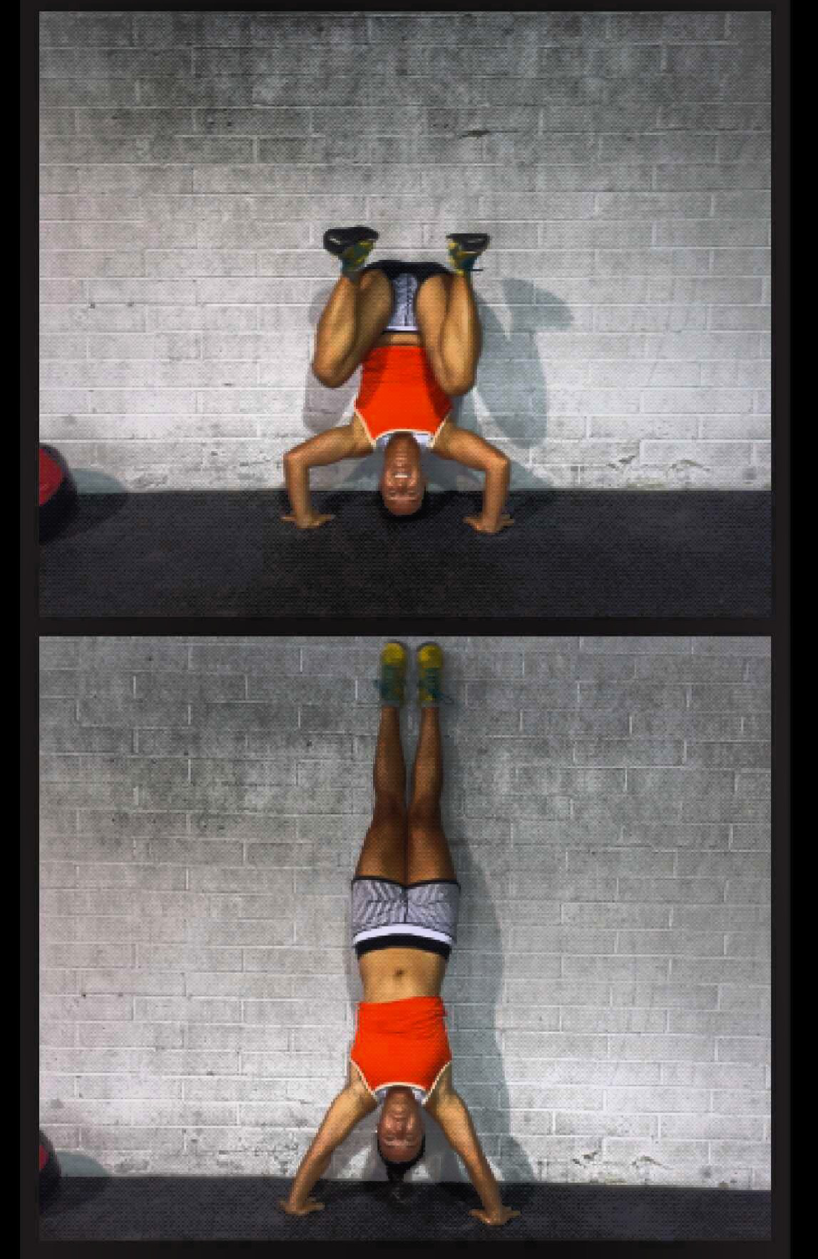 The Kipping Handstand Push-Up