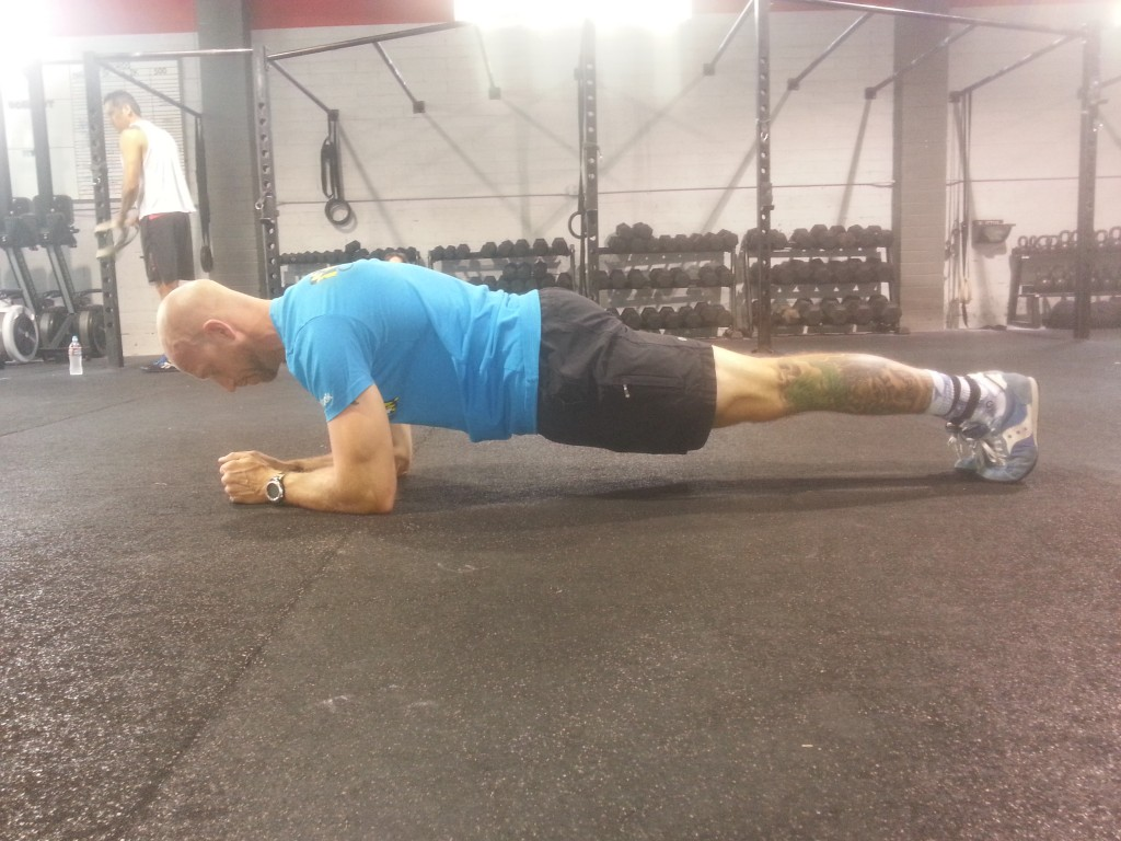 Planks by Nick Hawkes of CrossFit Invictus San Diego