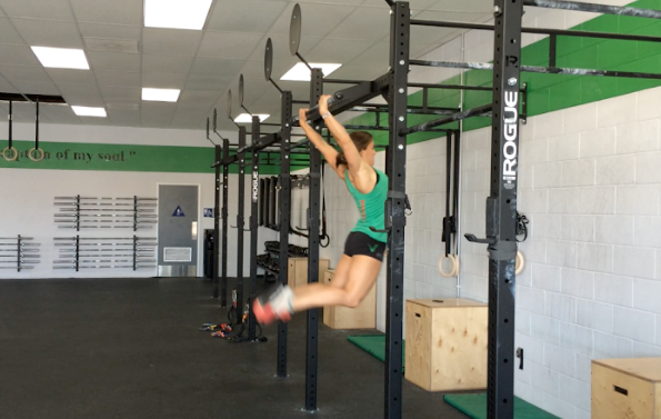 Bar Muscle Up by Heather Hippensteel of CrossFit Invictus San Diego