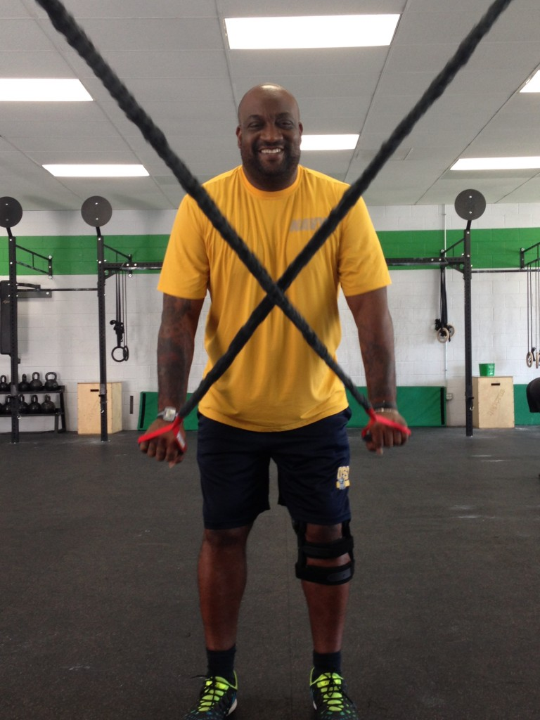 Eli and Crossover Symmetry at CrossFit Invictus in San Diego