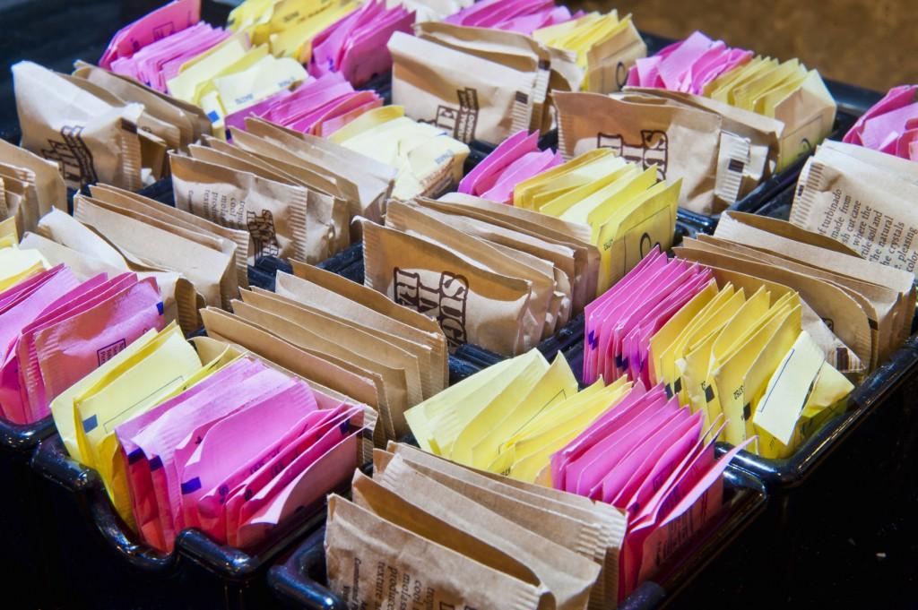 Sweetener packages