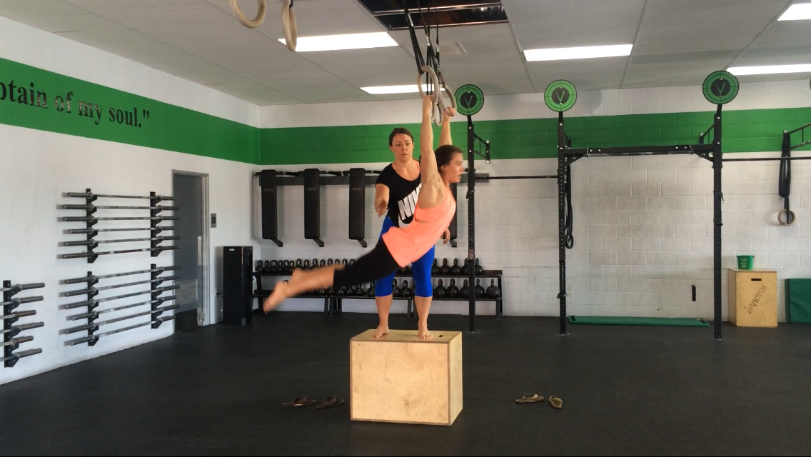Muscle Up Transition Rings
