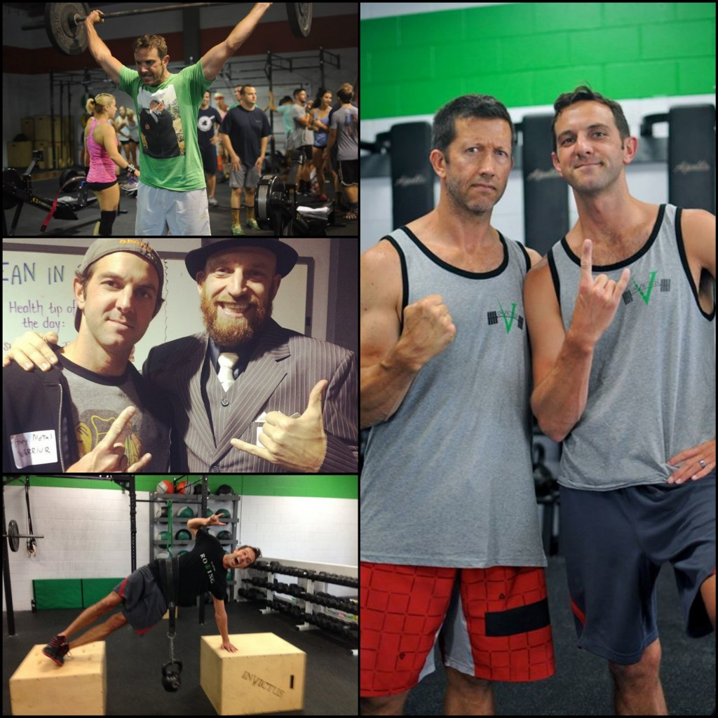 For Love of Metal and Hockey: Invictus Ambassador Bob Spanbauer CrossFit Invictus in San Diego