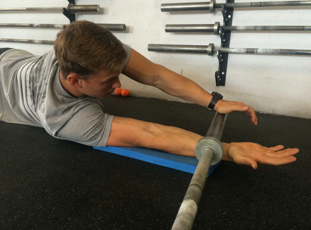 Forearm Care at CrossFit Invictus in San Diego