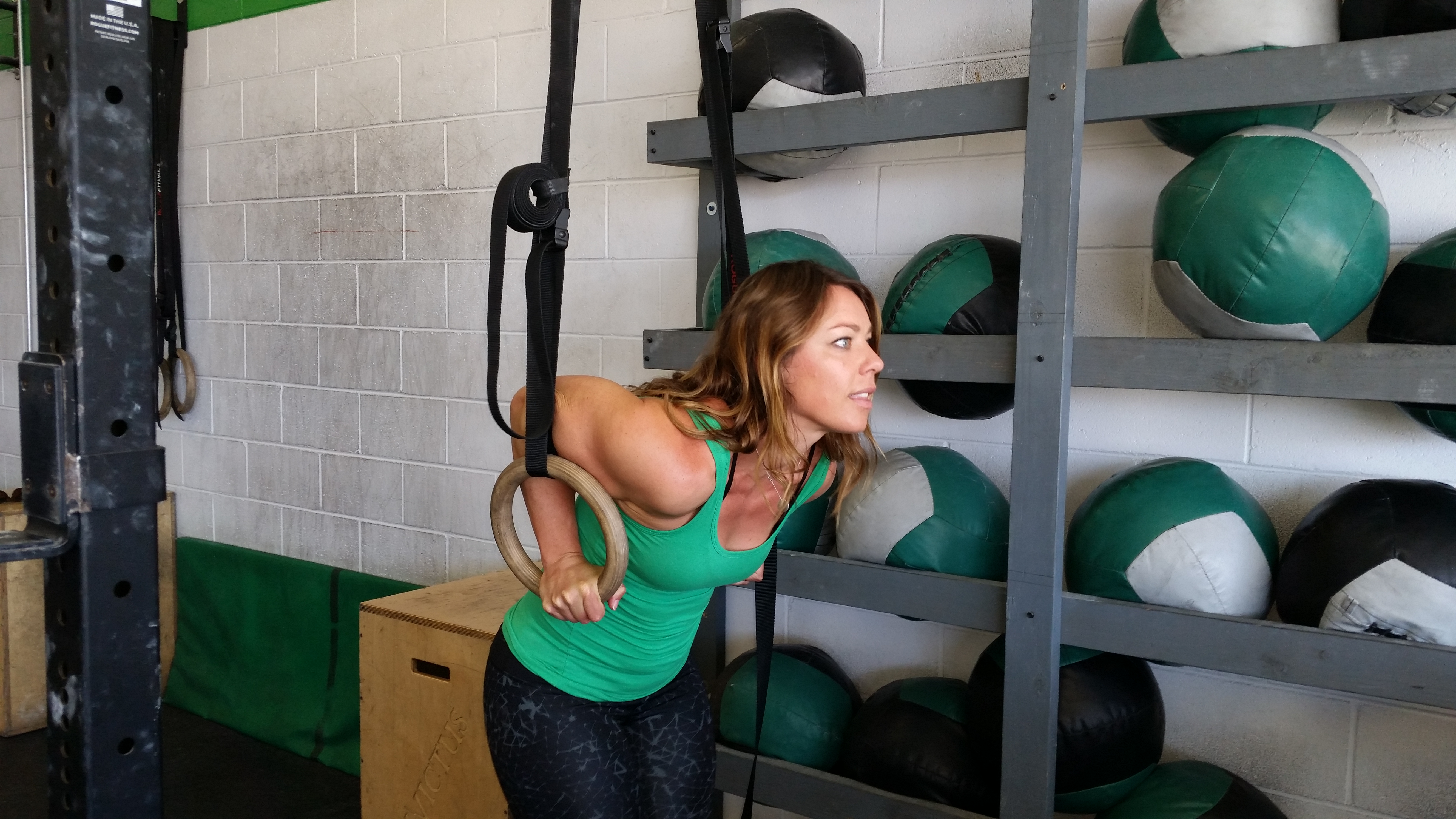 Coach Nichole of CrossFit Invictus in San Diego