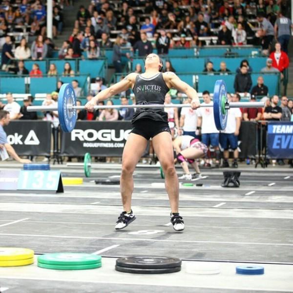 Invictus Athlete Cynthia Snatch