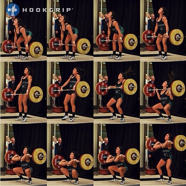 Olympic Weightlifter Lauren Fisher from CrossFit Invictus in San Diego
