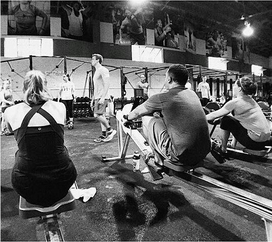 Rowing Club at CrossFit Invictus in San Diego