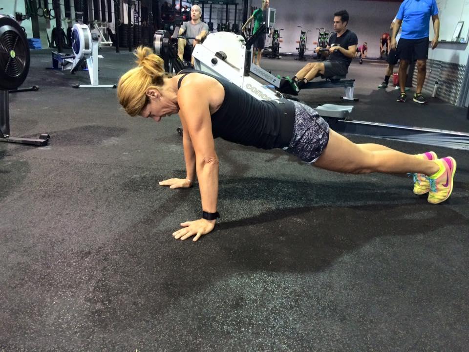 CrossFit Invictus Member Kari Michal Plank in San Diego