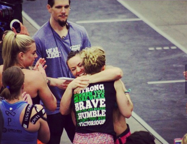 CrossFit Invictus Athletes Maddy Myers and Camille LeBlanc-Bazinet