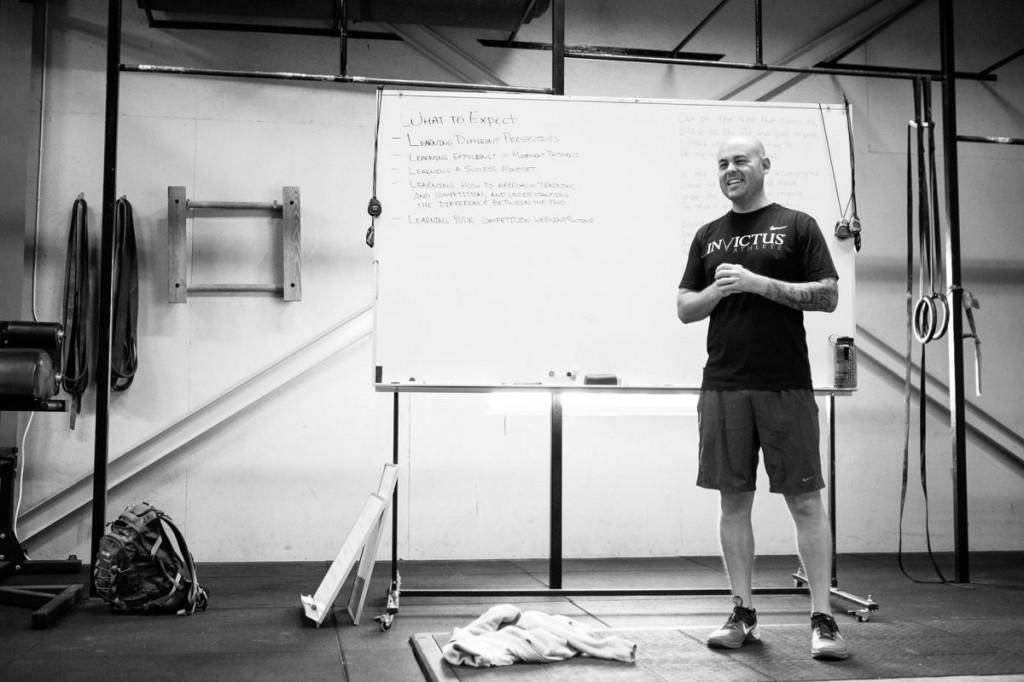 CJ Martin of CrossFit Invictus in San Diego