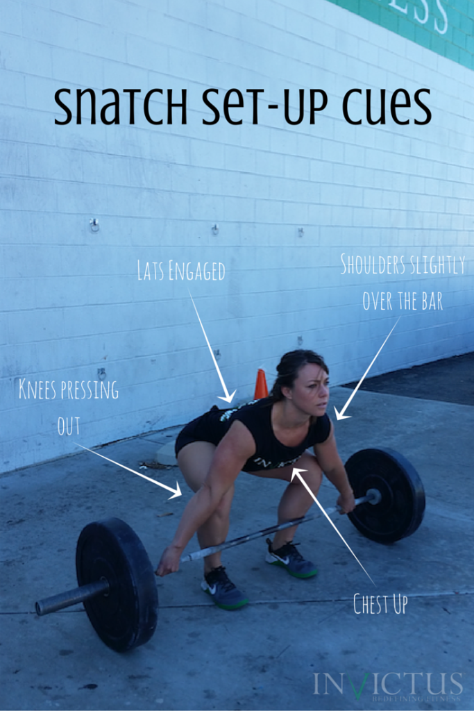 Snatch Setup Cues with CrossFit Invictus in San Diego