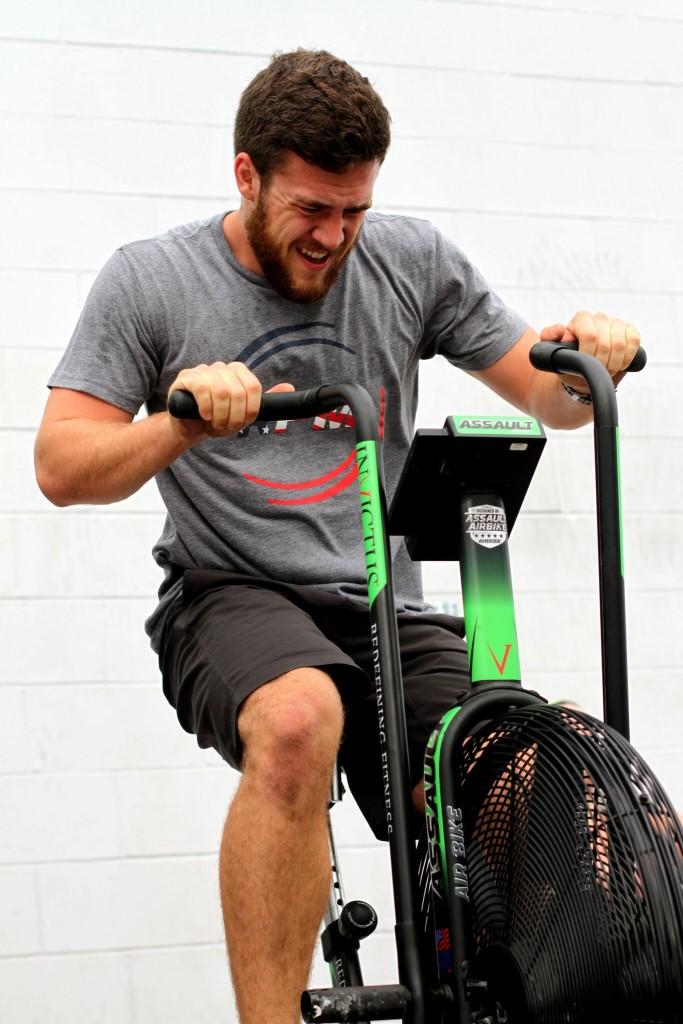 CrossFit Invictus Member Brandon Mantooth in San Diego