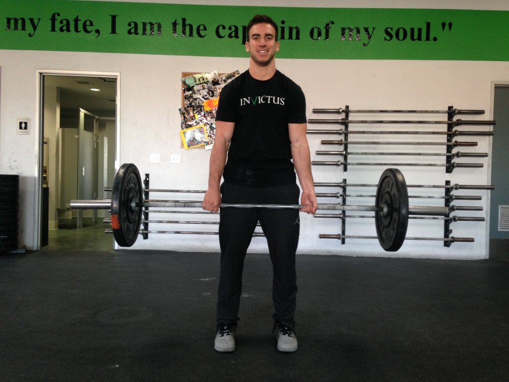The Finish of a Deadlift Written by Hunter Britt