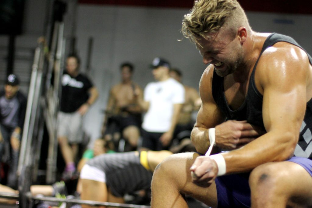 Rasmus during the 2016 CrossFit Open